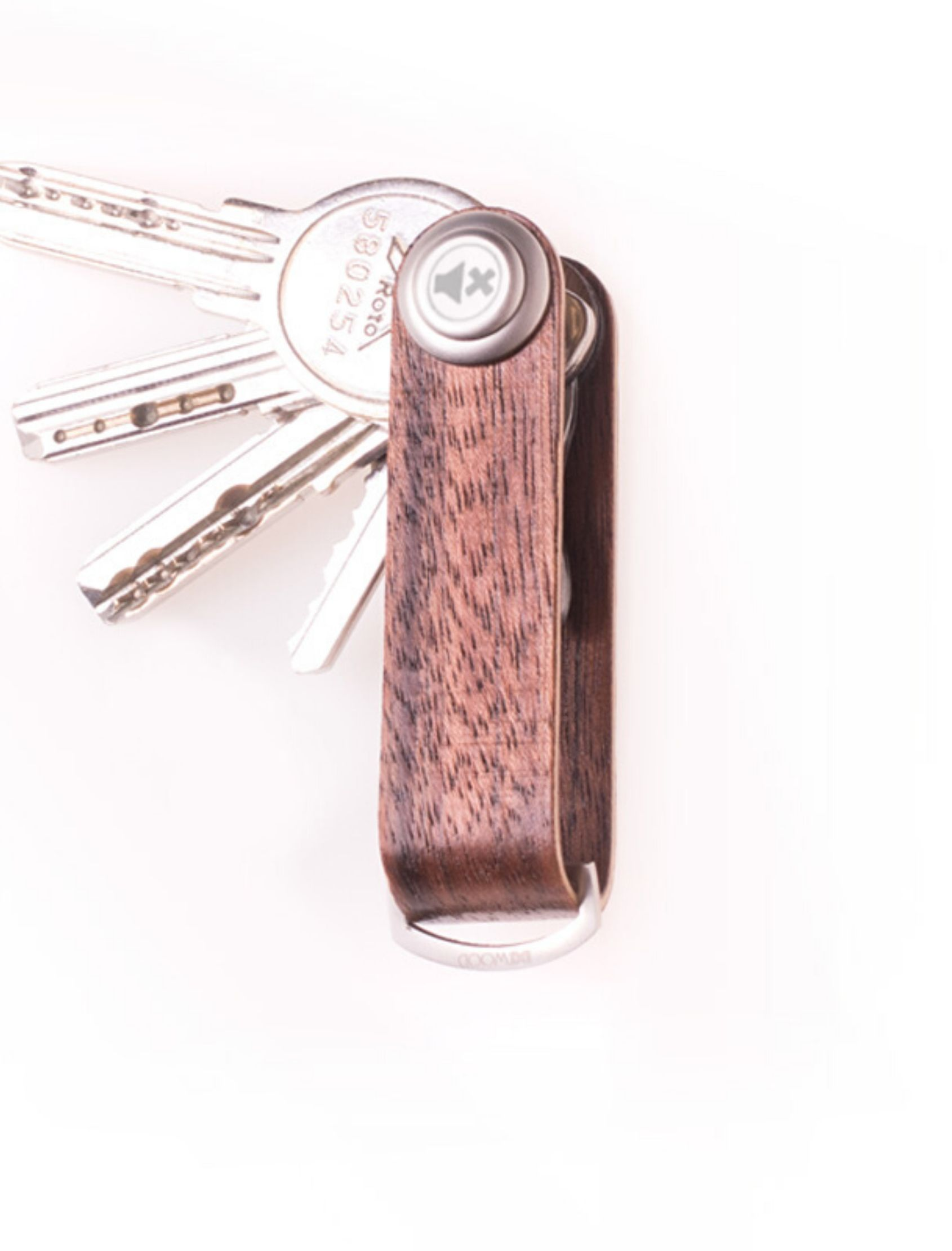 Llavero madera Etimoe practico y original para llevar tus llaves