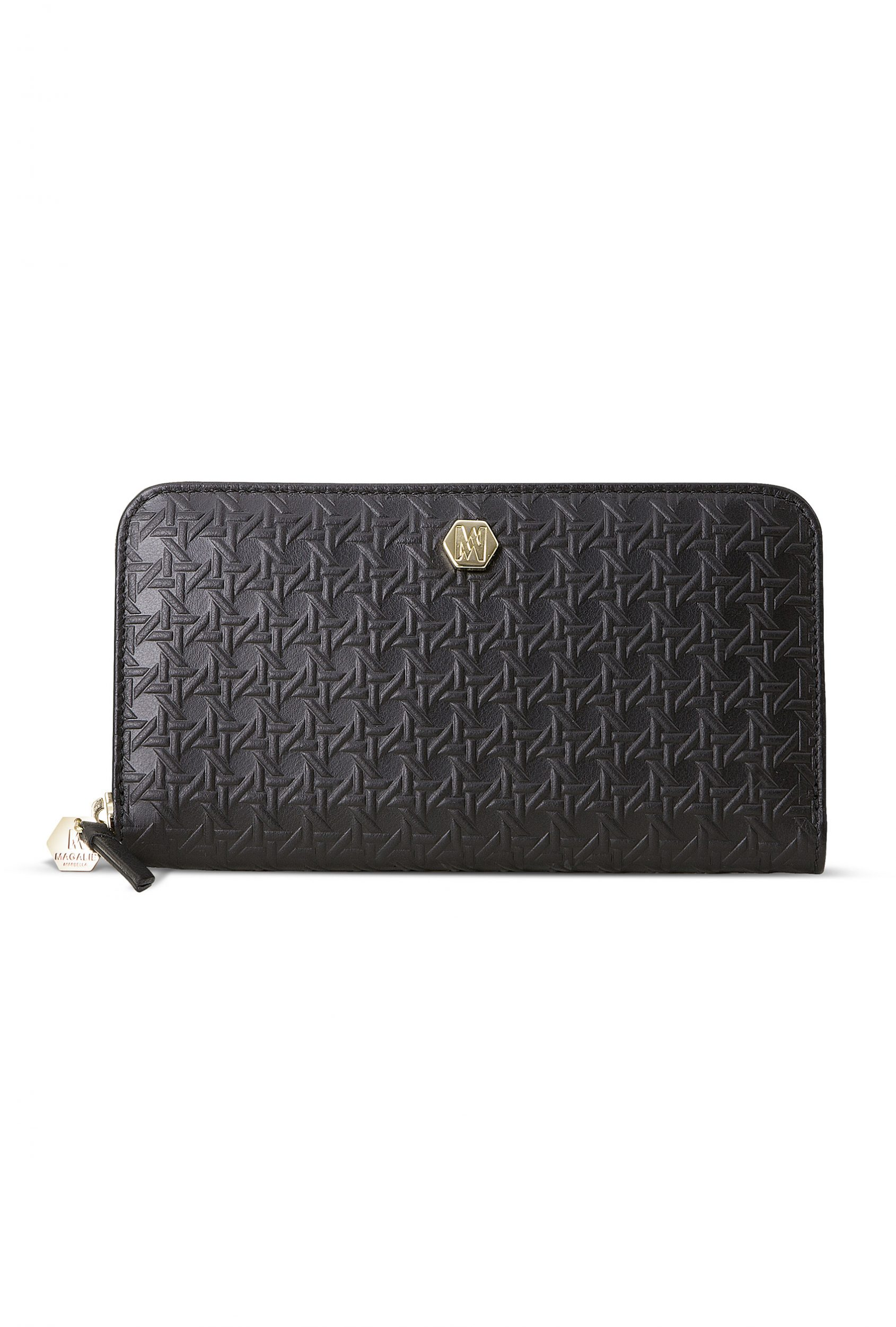 cartera billetera Purity de piel en negro. Magalie
