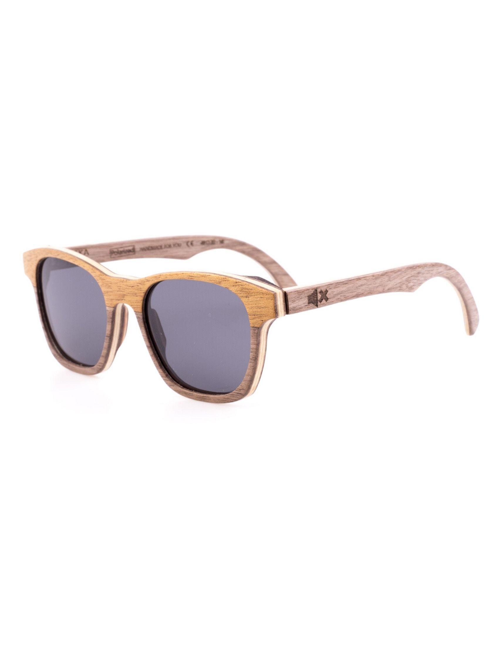 gafas de sol puska txiki con montura de madera de ixi wood