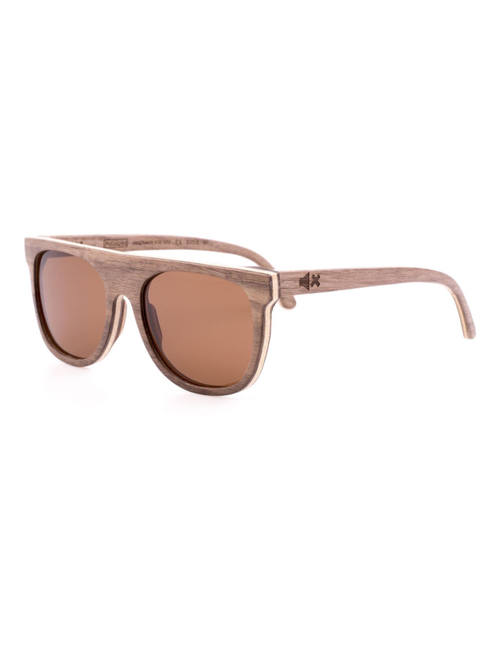 gafas de madera con lente polarizada de ixi wood