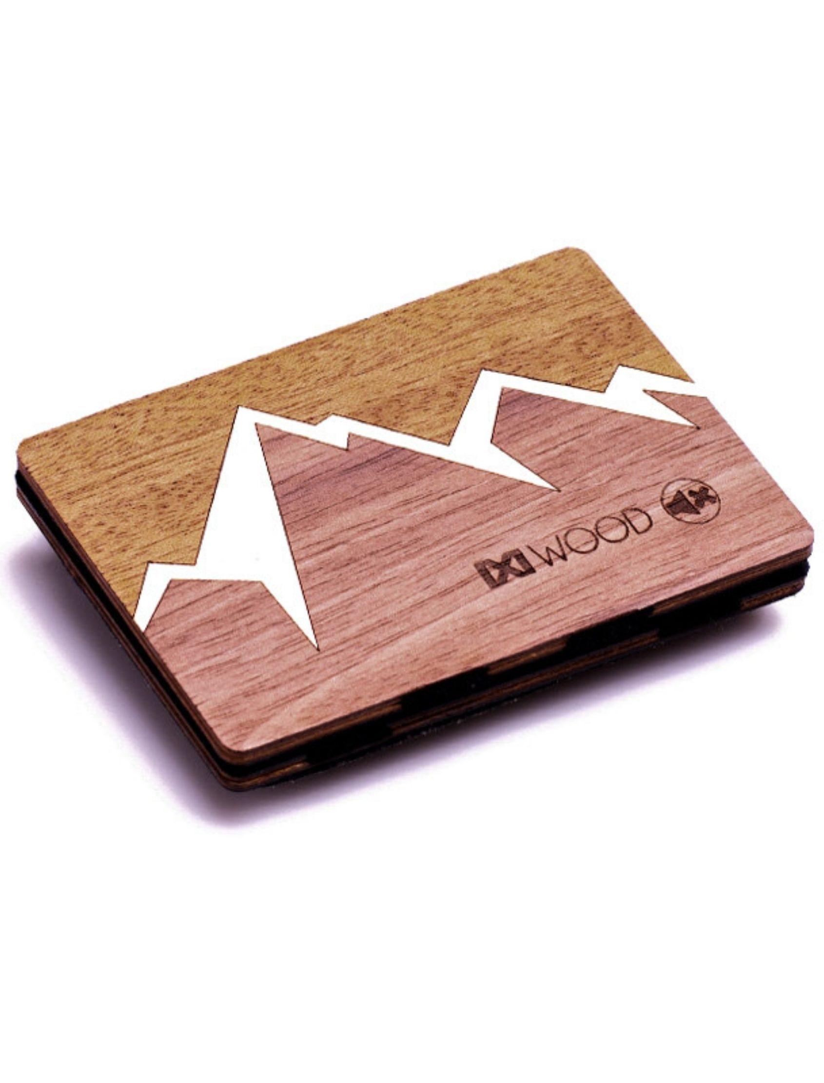 cartera de madera mountain de ixi wood