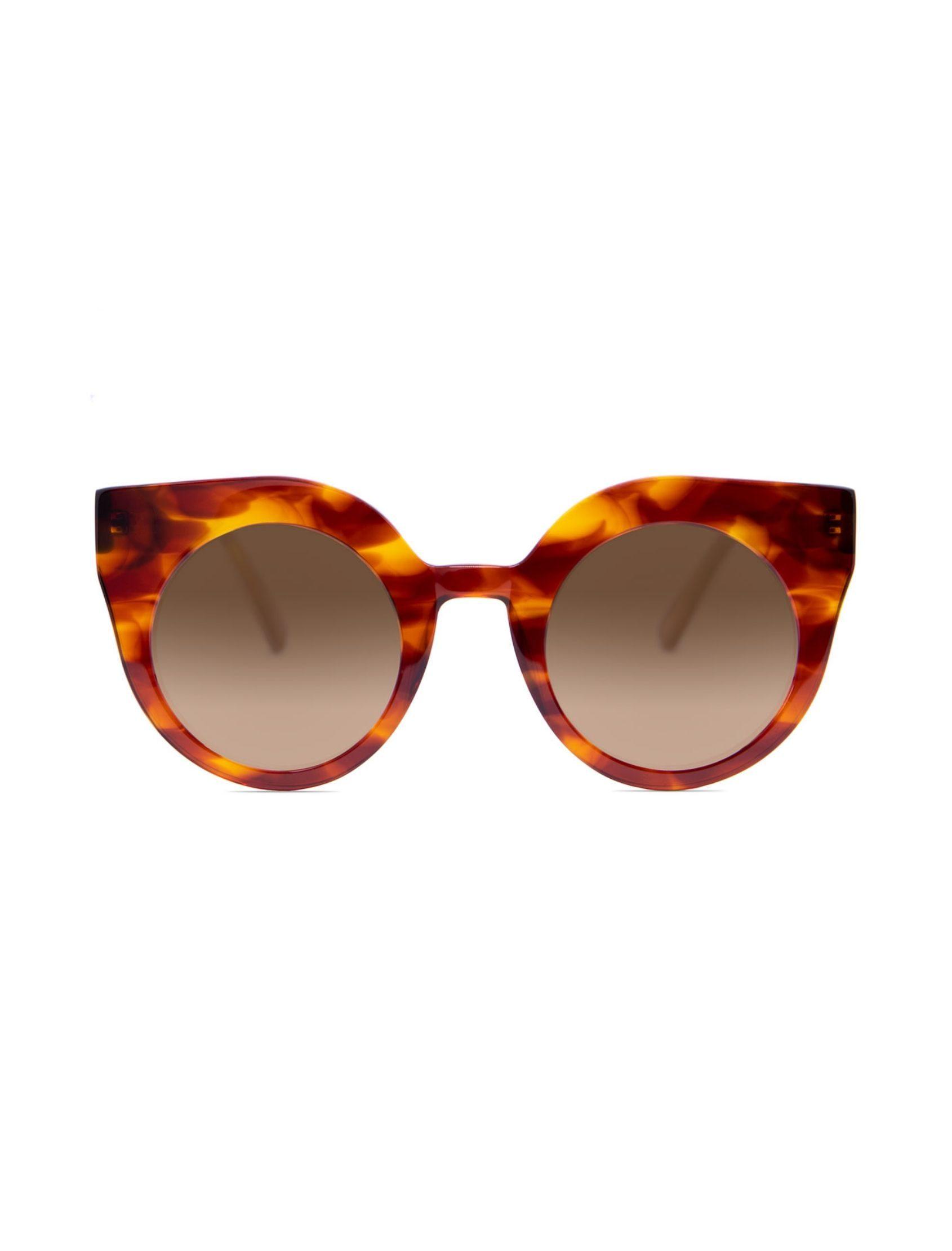 gafa de sol nina oxydian de mujer con forma de ojo de gato redondeada
