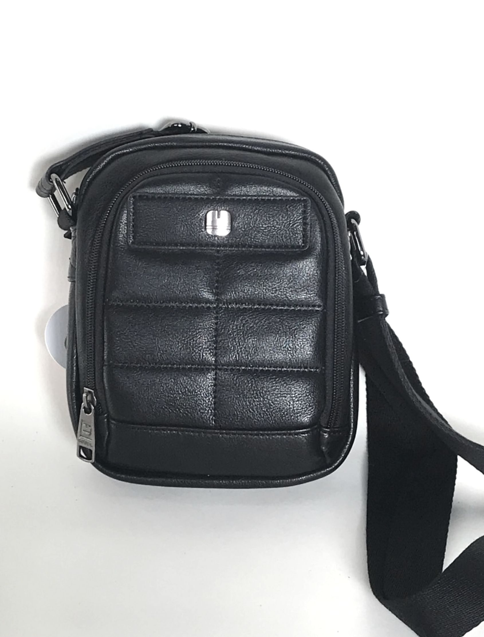 bolso bandolera negro de gabol en polipiel