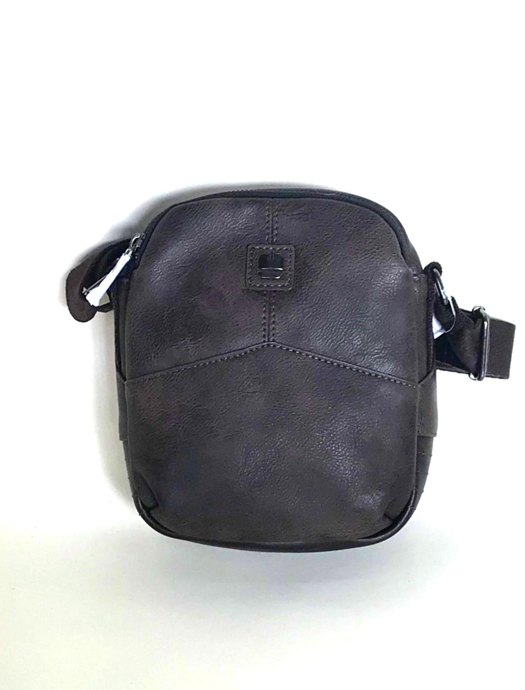 bolso bandolera marrón de la marca gabol para hombre