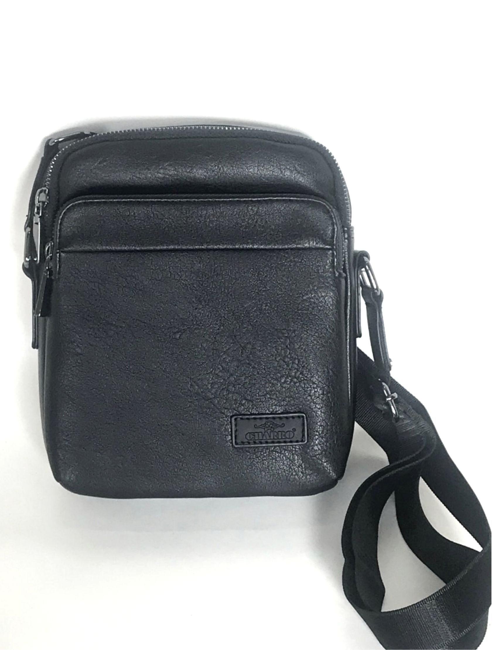 bolso bandolera en negro de el charro