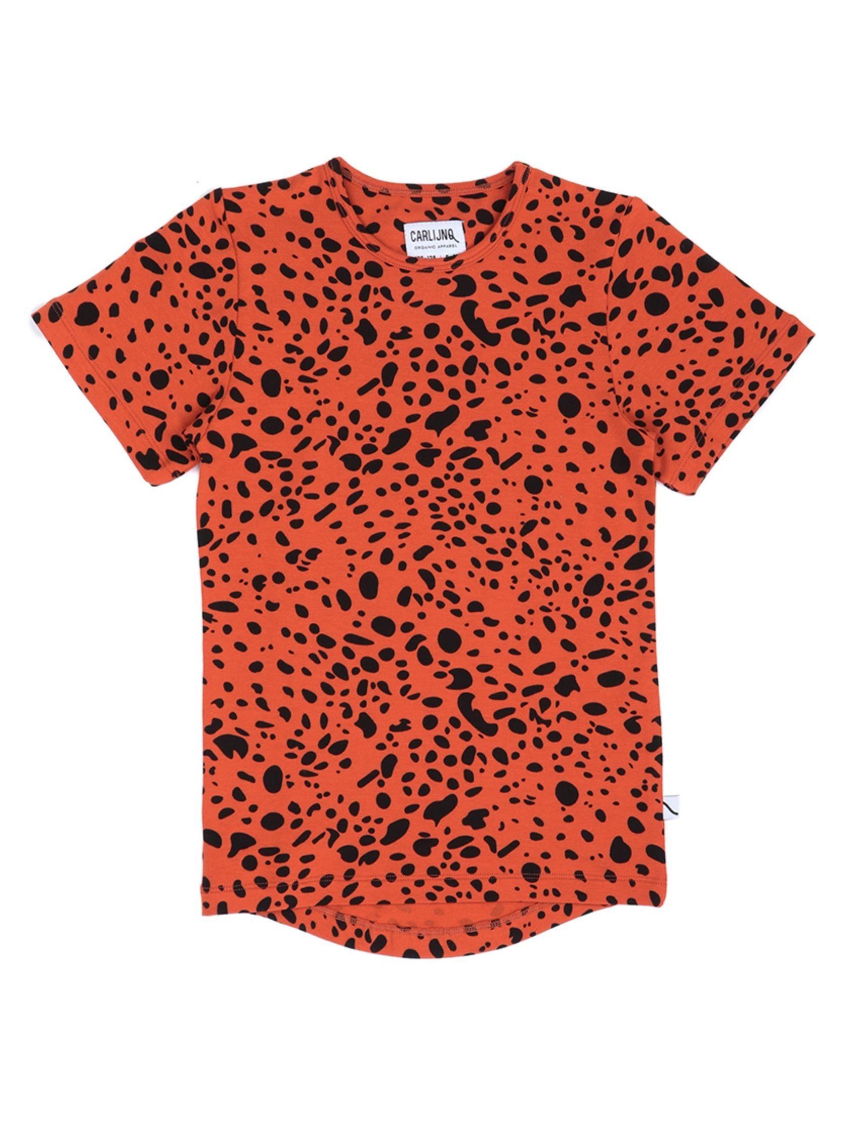 camiseta infantil con estampado animal print de carlijnq