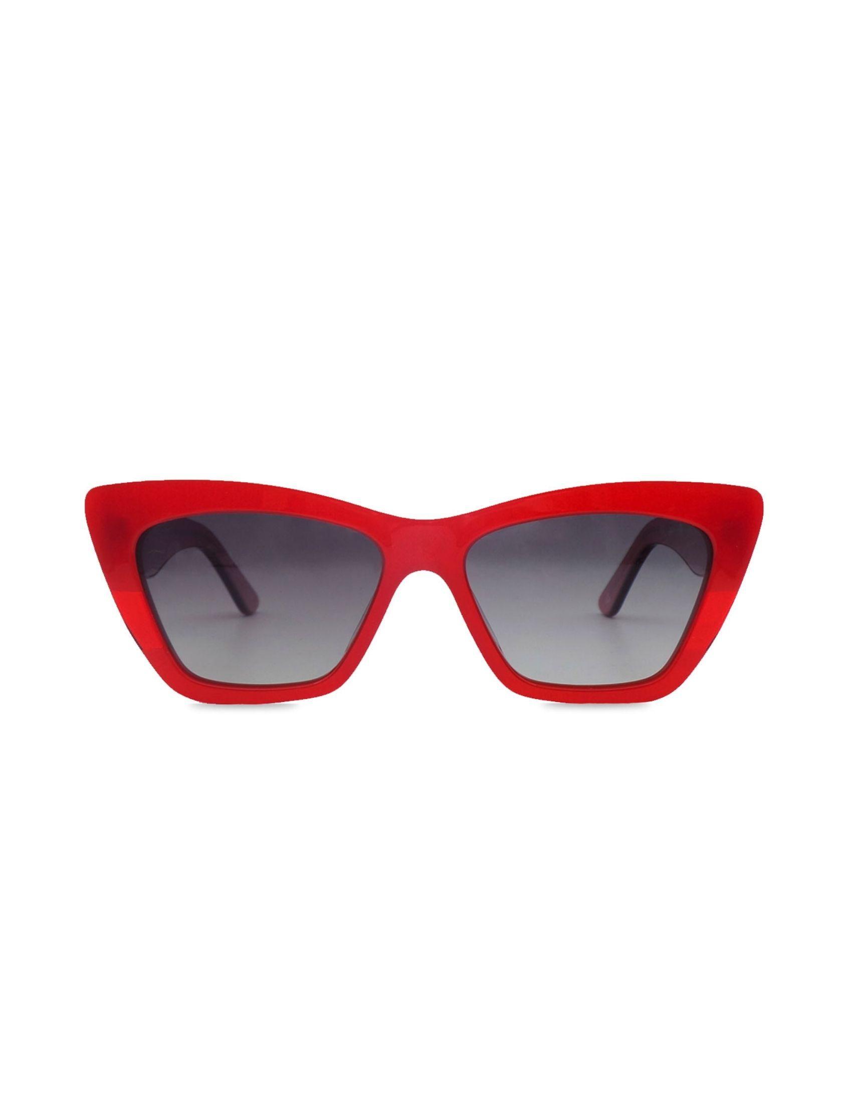 gafa de sol molly boom en color rojo con lentes negras