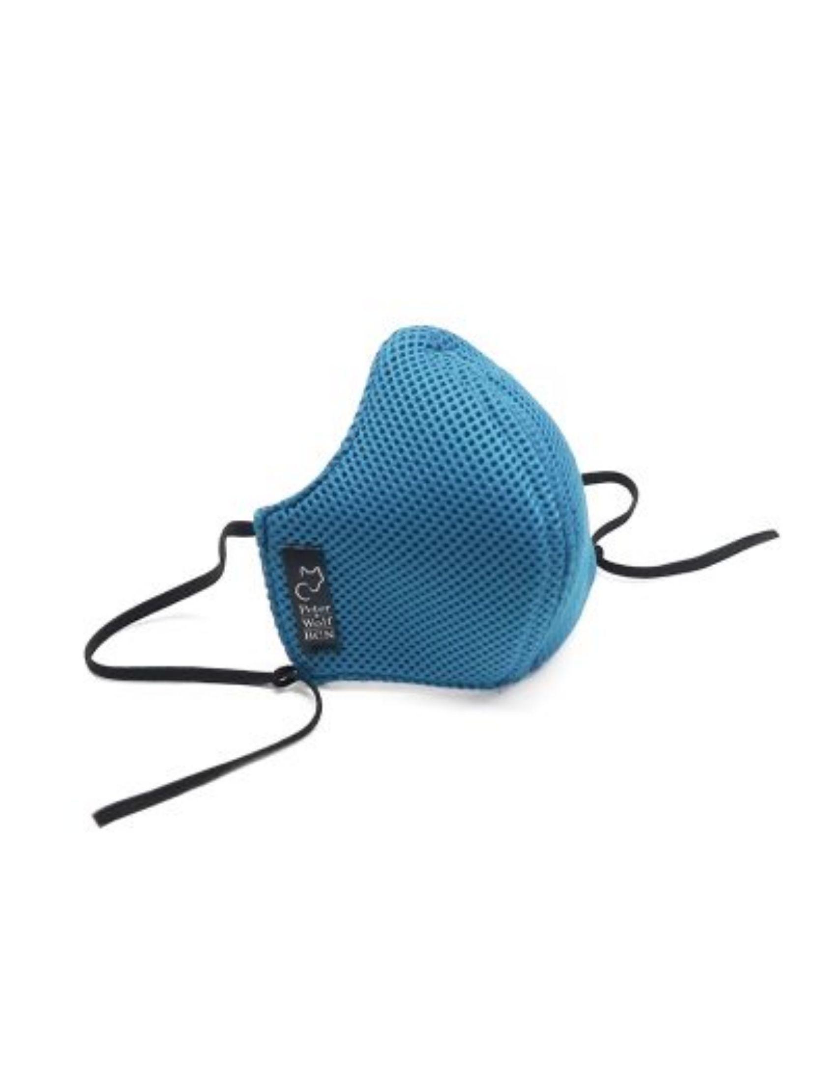 mascarilla reutilizable unisex modelo sport en color azul celeste