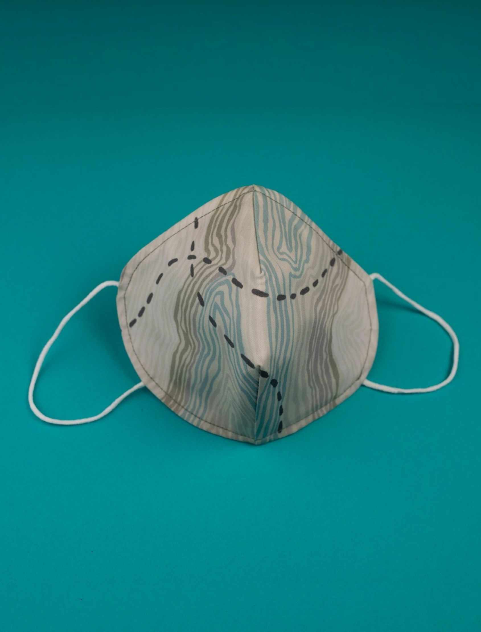 Mascarilla hombre diego con tejido homologado reutilizable hasta 25 lavados