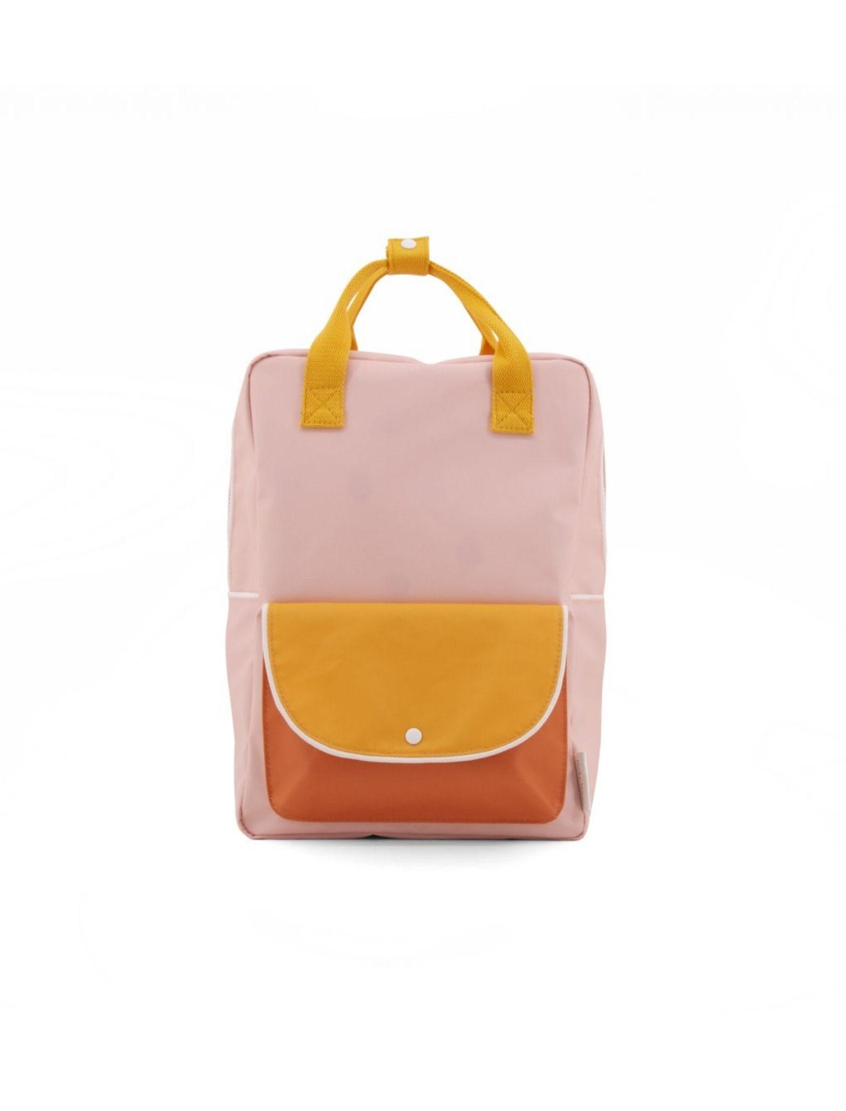 mochila sticky lemon color rosa