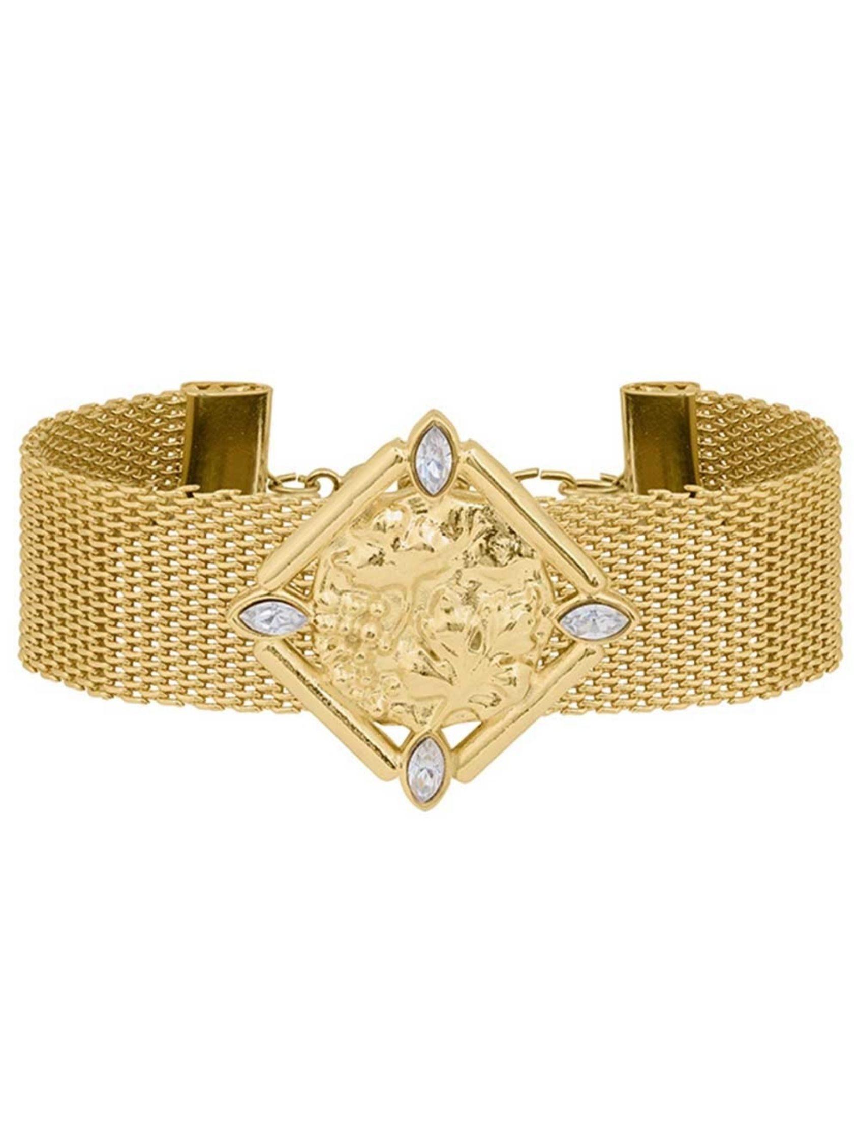 choker versalles en oro inspirado en el palacio francés de omitouch