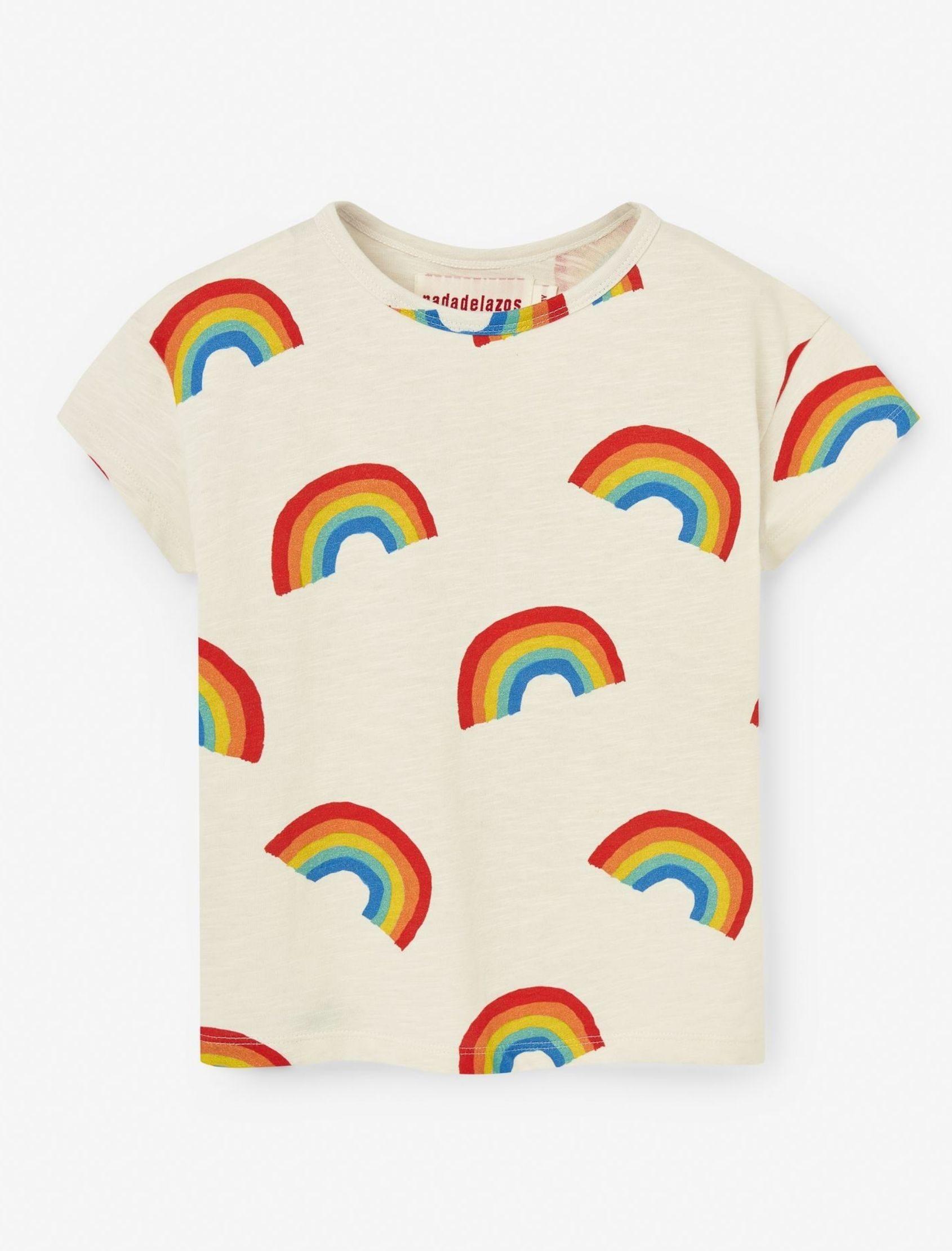camiseta arcoiris nadadelazos