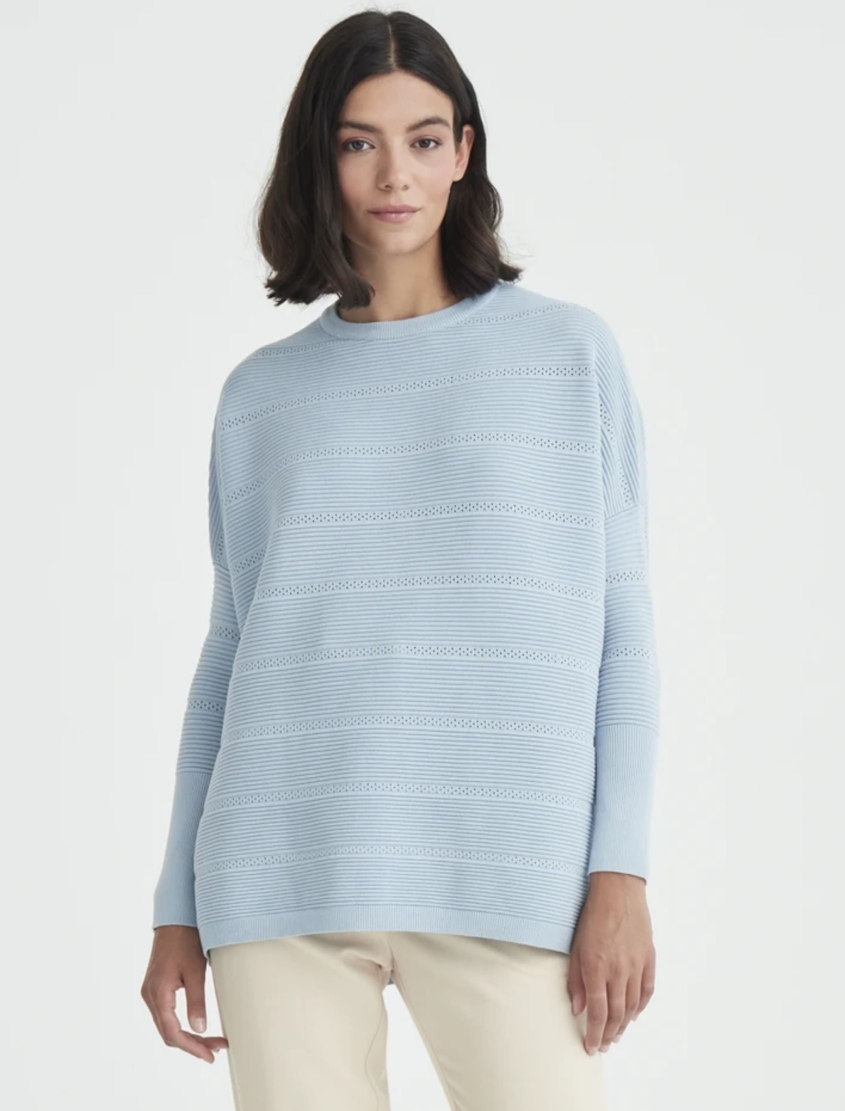 JErsei jumper de punto en color azul de la marca paisie london