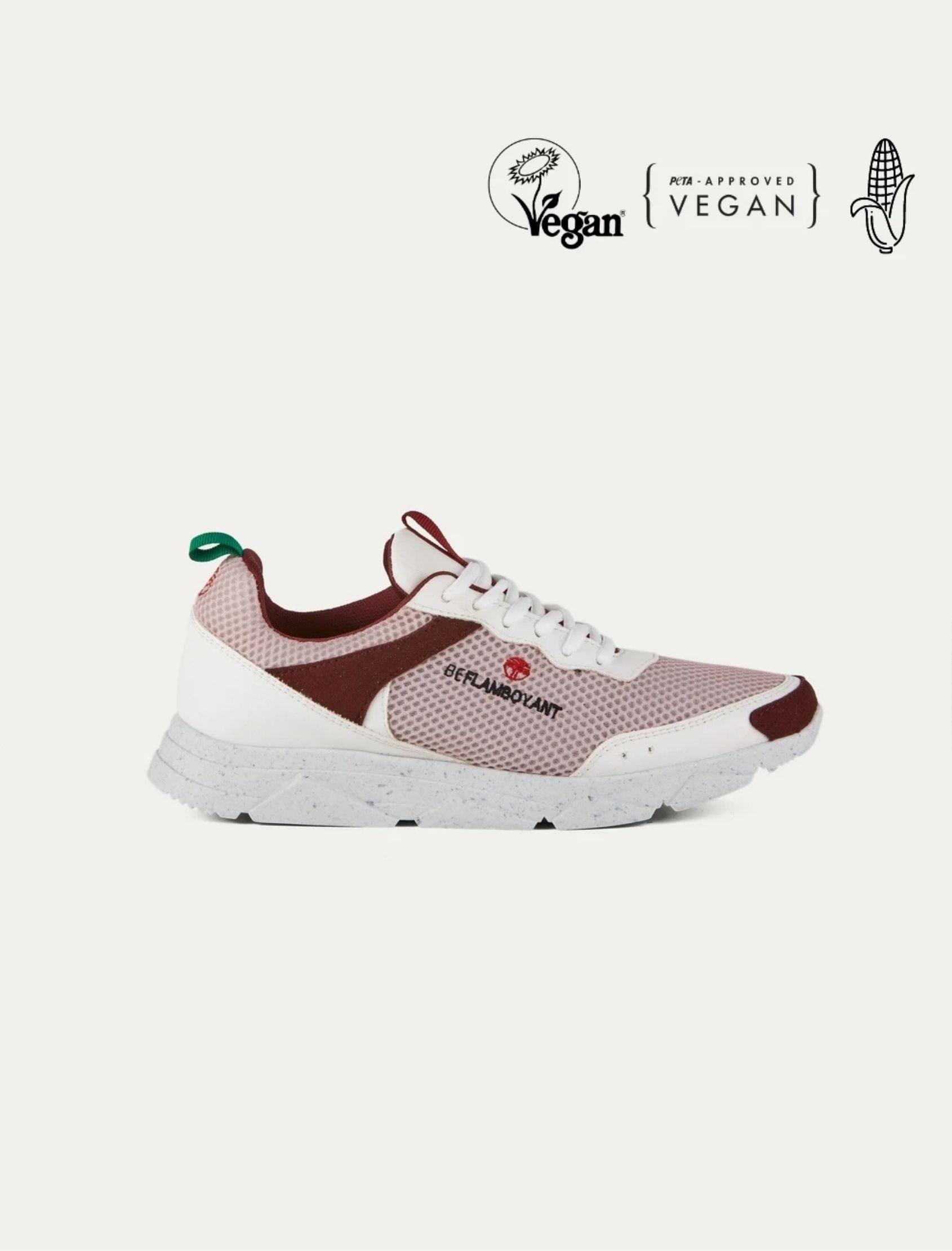 zapatilla street rose beflamboyant vegan shoes